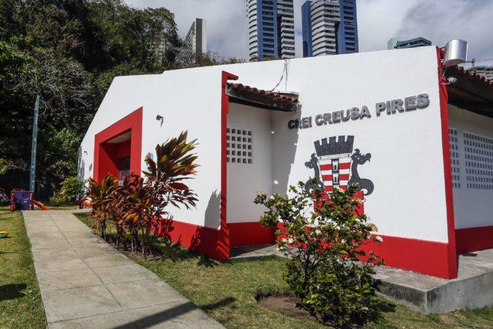PMJP entrega creche no São José e amplia número de vagas em berçário