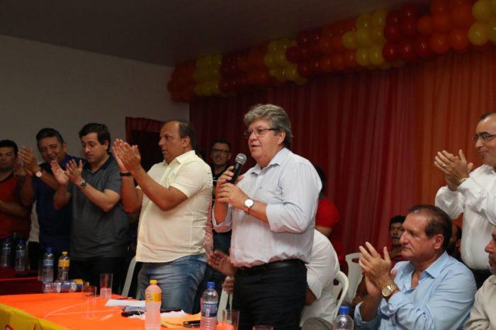 Prefeito do MDB anuncia apoio à pré-candidatura de João ao Governo da Paraíba