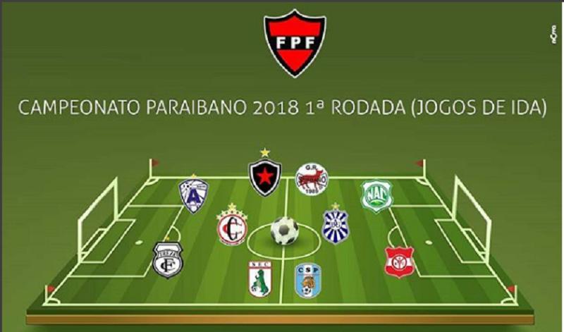 Campeonato Paraibano de futebol começa neste domingo com apenas quatro jogos; veja