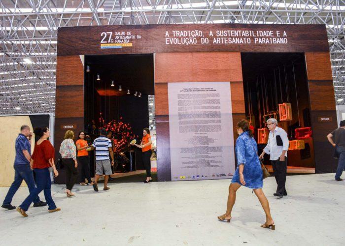 27º Salão de Artesanato da PB começa atraindo bom número de visitantes