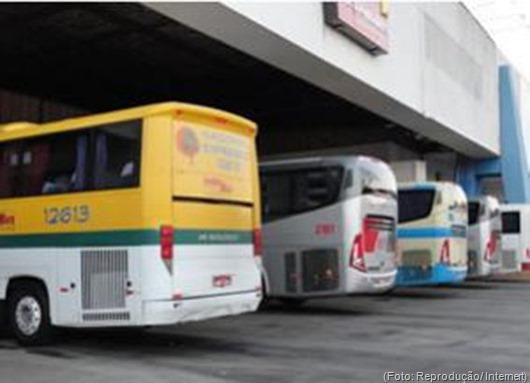 Passagens de ônibus intermunicipais aumentam em 7,5% a partir deste domingo