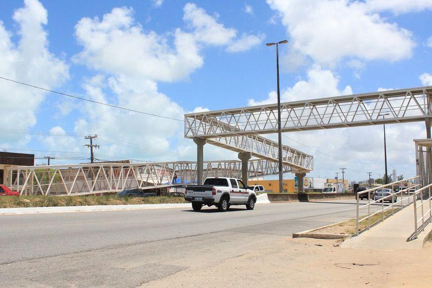 Construção do vão central da passarela na BR-230 é adiada