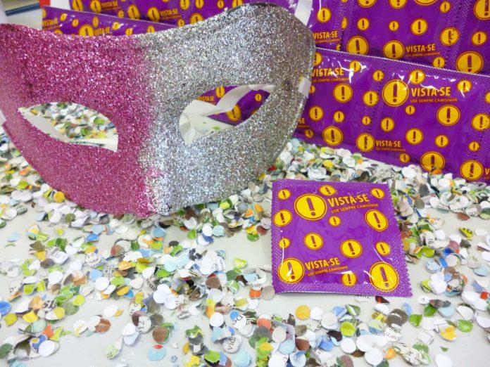 Mais de 1 milhão de preservativos serão distribuídos durante o carnaval
