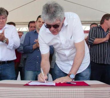 Ricardo assina OS e Cajazeiras vai ganhar uma Ciretran