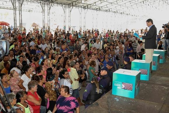 PMCG realiza sorteio dos 4.100 apartamentos do Aluízio Campos