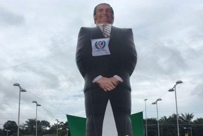 Boneco gigante do Bolsonaro a João Pessoa neste fim de semana