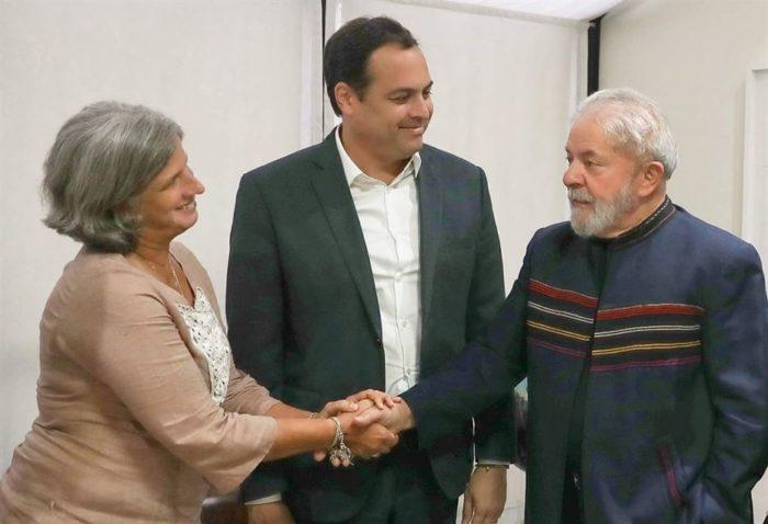 Lula se reúne com Renata Campos e Paulo Câmara e sela aliança entre PSB/PT em Pernambuco