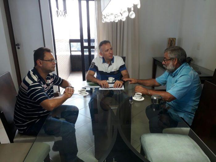 Aguinaldo Ribeiro discute emendas e recursos em prol da cidade de Juarez Távora