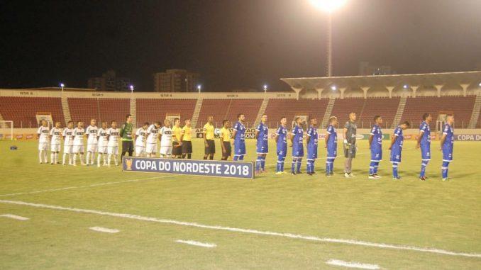 Treze perde para o Confiança em Sergipe e segue zerado na Copa do Nordeste