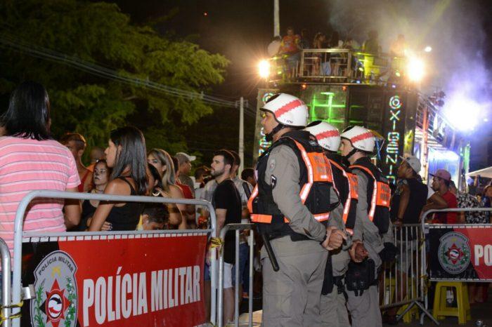 Balanço do Muriçocas: polícia conduziu 41 pessoas a posto de comando improvisado