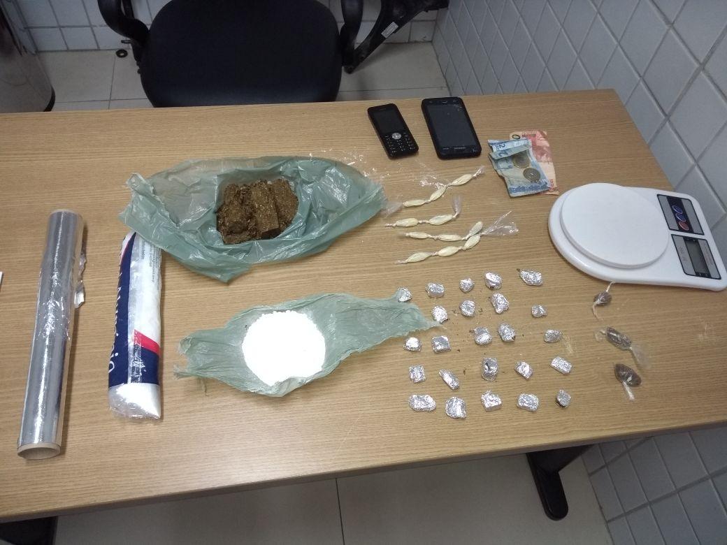 Operação Carnaval: Polícia apreende adolescentes suspeitos de tráfico de drogas na Capital