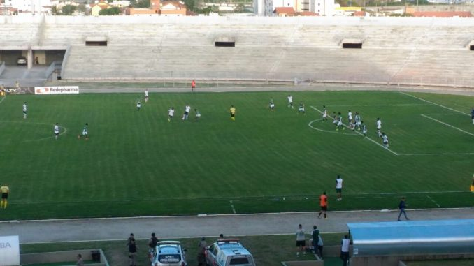Botafogo-PB só empata com o Serrano em CG e perde chance de liderar Grupo A