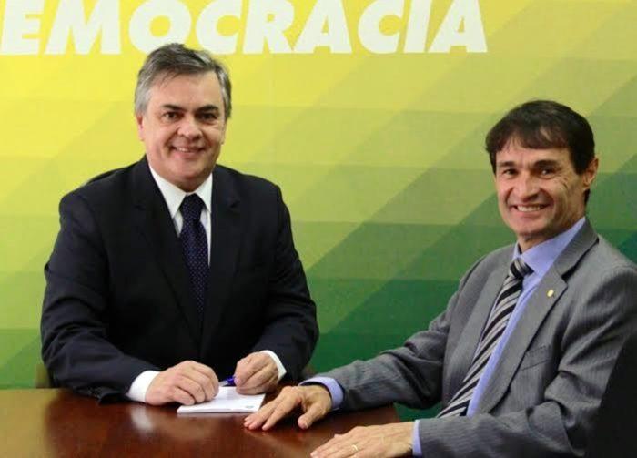 """Cássio garante apoio à pré-candidatura de Romero ao governo: """"a definição está tomada"""""""
