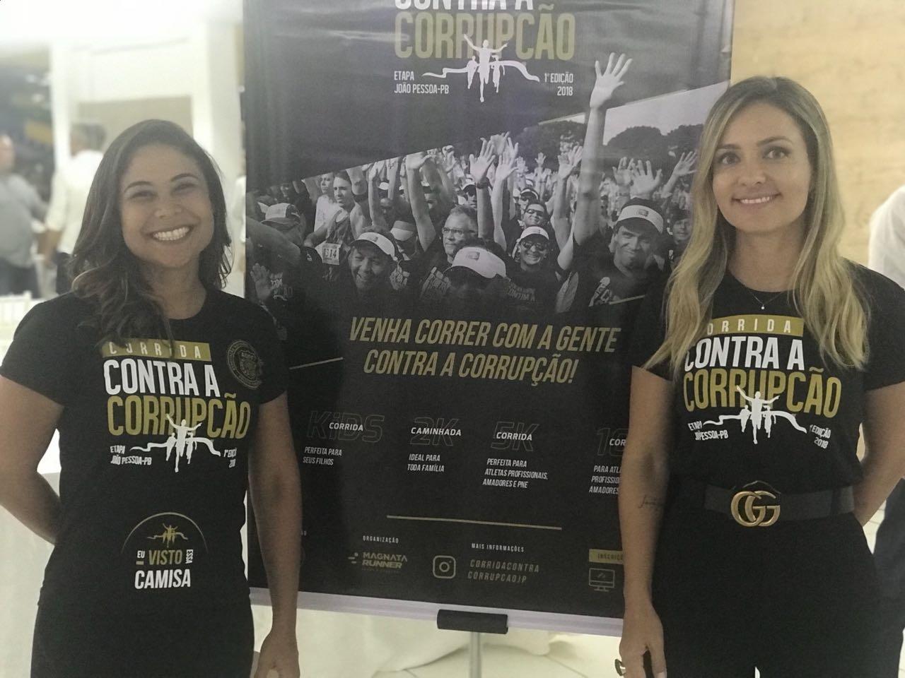Primeira Corrida Contra a Corrupção pretende reunir 1,5 mil pessoas na Paraíba