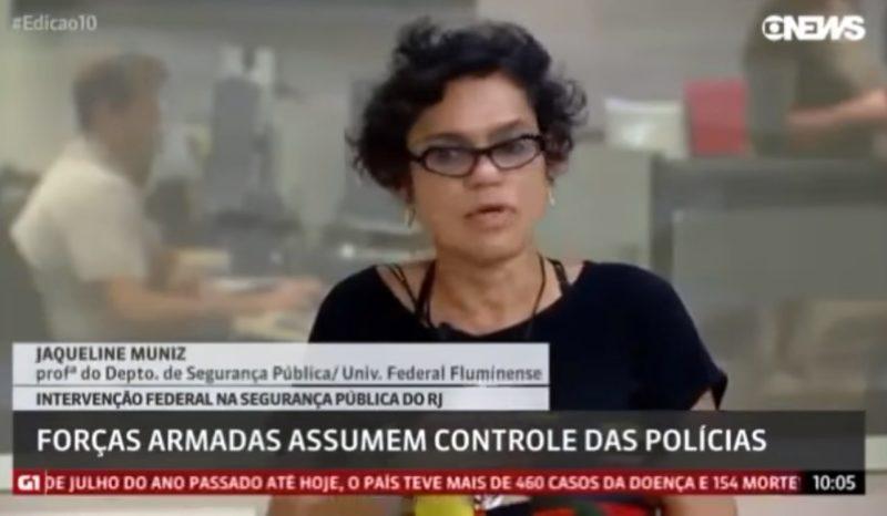 Professora usa programa da Globo para criticar intervenção de Temer no Rio e vídeo viraliza; assista