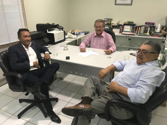 Samuka se reúne com Maranhão e tesoureiro do MDB e sacramenta filiação ao partido