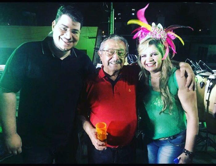 No dia em que Cartaxo rompeu de vez com MDB, vereadora do PSD posa com Maranhão no Muriçocas