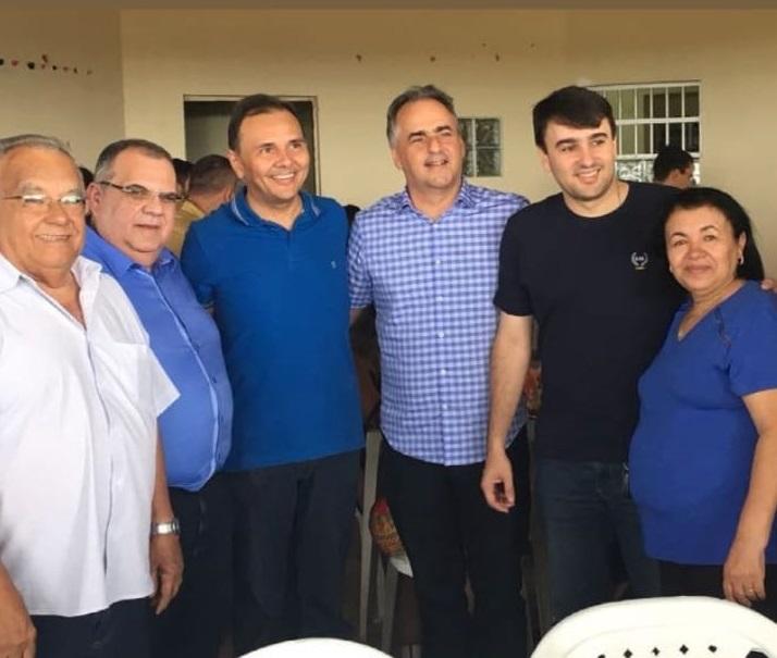 Após deixar PSD, Lucélio se reúne com Rômulo e Ludgério em cidade da região de CG