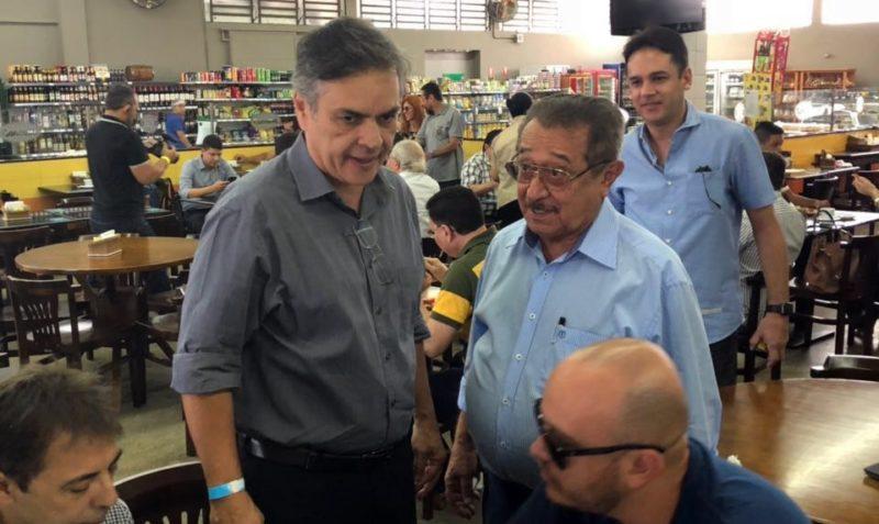 Cássio e Maranhão tomam café da manhã juntos em JP e discutem cenário eleitoral na Paraíba