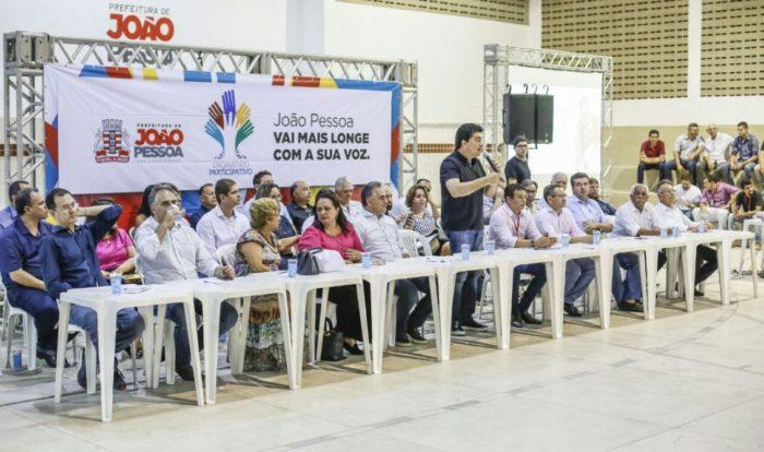 """Após período """"sabático"""", Manoel Jr. reaparece ao lado de Cartaxo em evento da PMJP"""