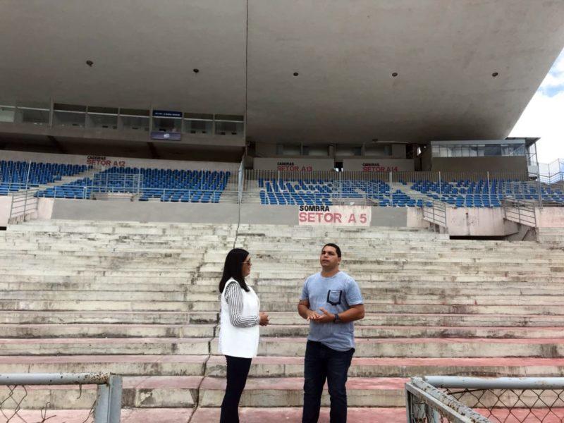 Lígia mostra sintonia com Ricardo e vistoria obras do Governo do Estado em Campina Grande