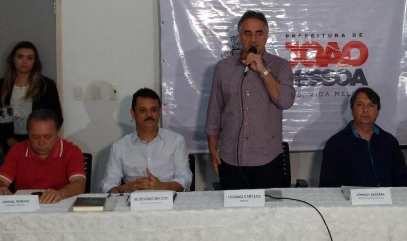 Vereadores da base governista comemoram permanência de Cartaxo na PMJP