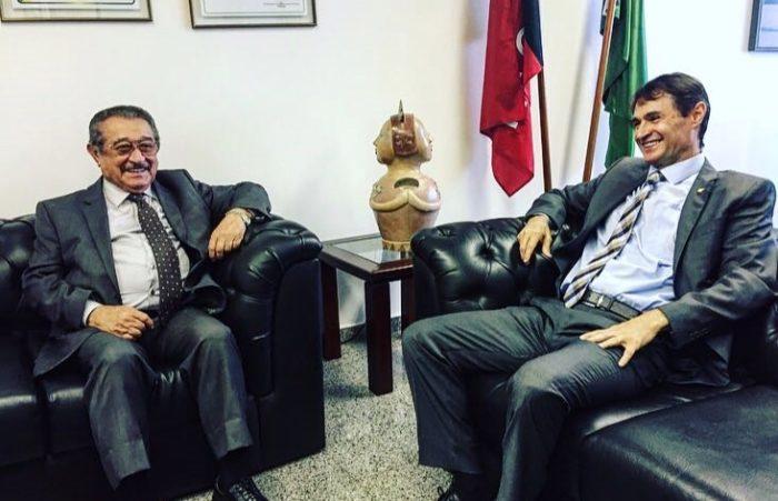Maranhão e Romero se reúnem em Brasília e discutem aliança entre MDB e PSDB na Paraíba