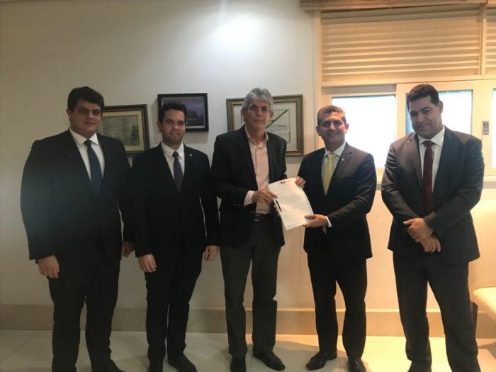 OAB-PB apresenta ao governador Ricardo Coutinho proposta de piso salarial para advogados
