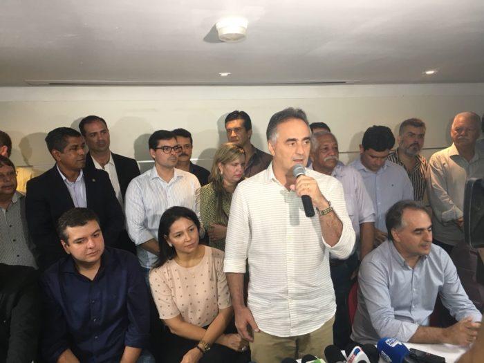 """Maior interessado na saída de Cartaxo da PMJP, Manoel Jr. falta à coletiva de anúncio do """"fico"""""""
