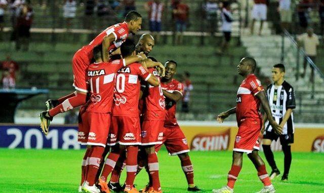 Já eliminado, reservas do Treze perdem para o CRB em despedida da Copa do Nordeste