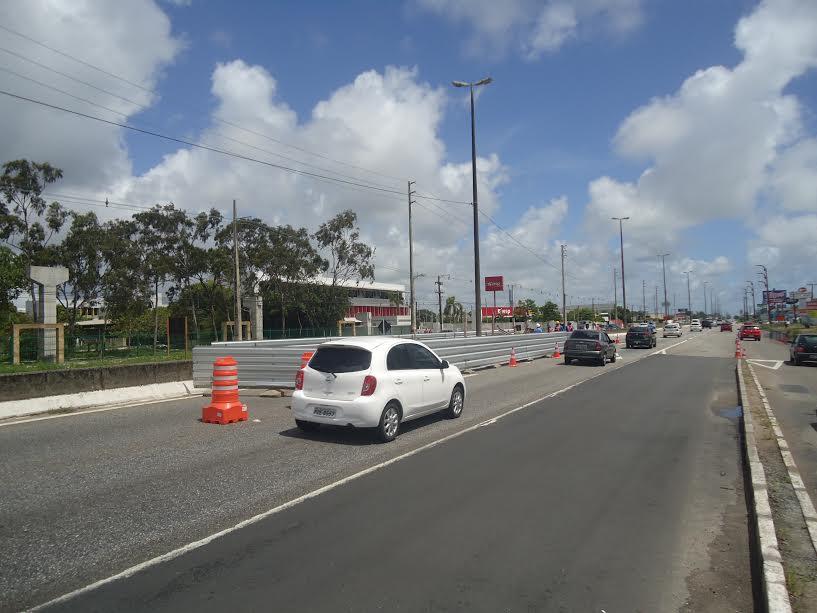 Começam obras para instalação de passarela na BR-230