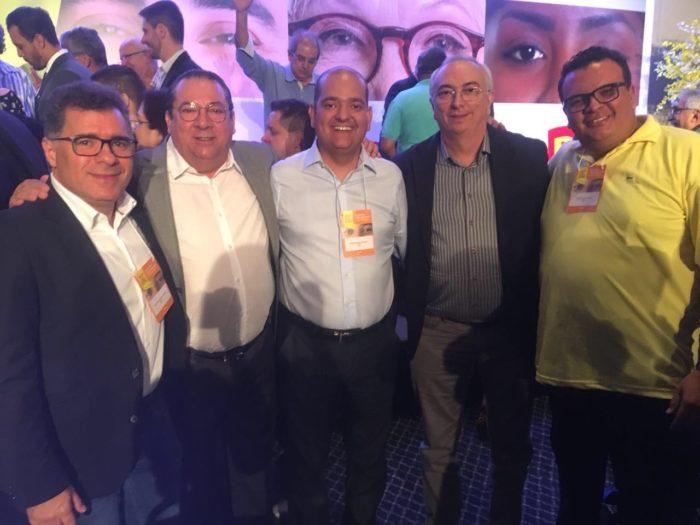 Nonato e Artur são eleitos para o Diretório Nacional no Congresso do PPS em São Paulo