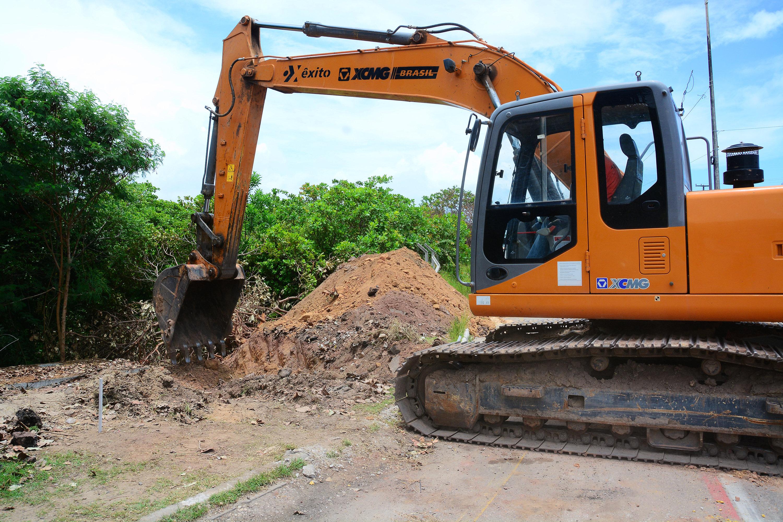 Implantação da rede de drenagem na Barreira do Cabo Branco é iniciada