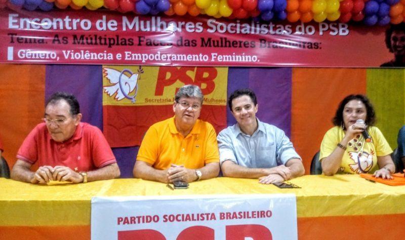 Em Patos, João Azevêdo e Veneziano prestigiam Encontro de Mulheres Socialistas