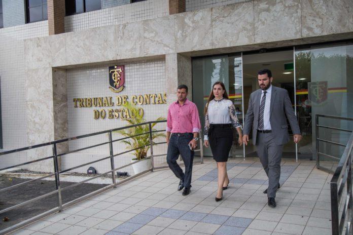 Prefeito interino de Cabedelo solicita ao TCE-PB auditoria das contas do município