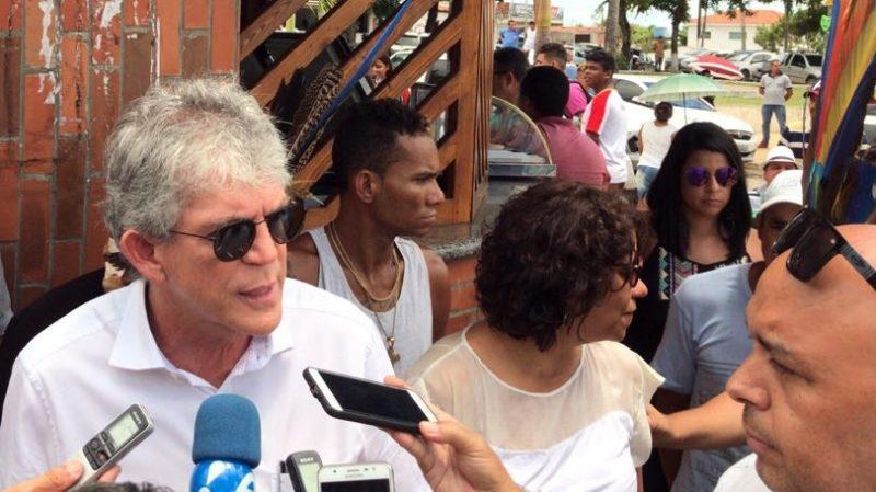 Ricardo lembra atentado contra a vida de Burity para justificar segurança a ex-governadores; ouça