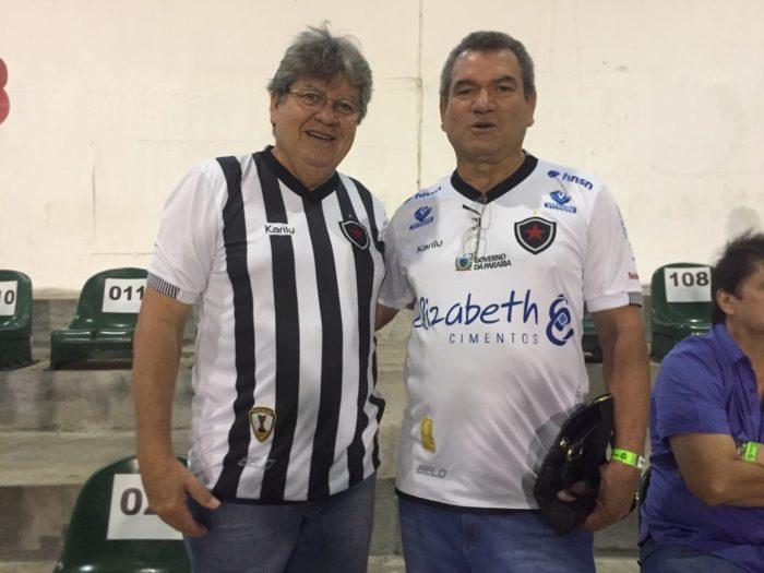 Botafoguense, João Azevêdo prestigia final do Campeonato Paraibano 2018 no Almeidão