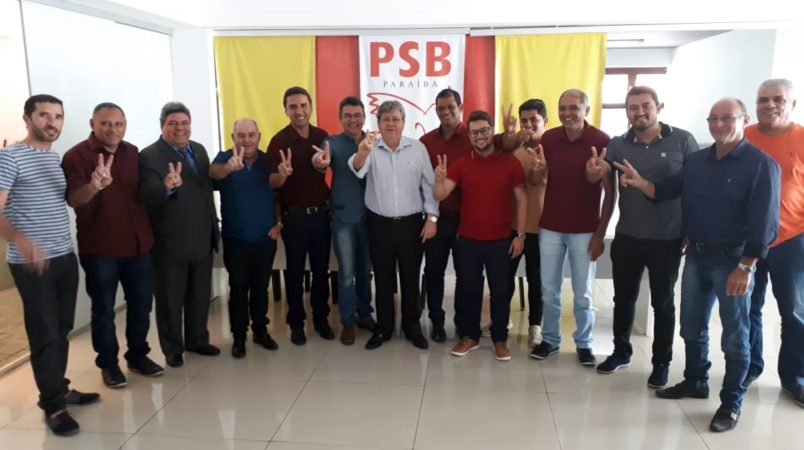 Novo reforço: mais um prefeito do PDT declara apoio à pré-candidatura de João Azevêdo ao governo