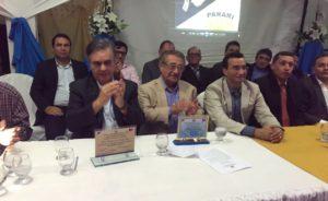 Maranhão e Cássio são homenageados pela Câmara de Parari