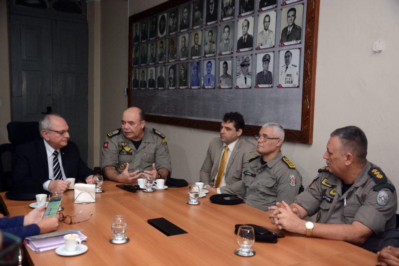 Reunião discute planejamento do esquema de segurança para as eleições 2018 na PB