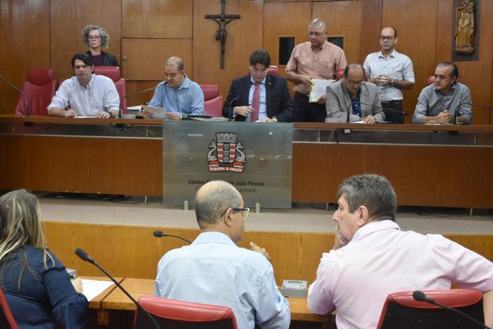 CMJP da Câmara de João Pessoa analisa 35 matérias legislativas nesta segunda