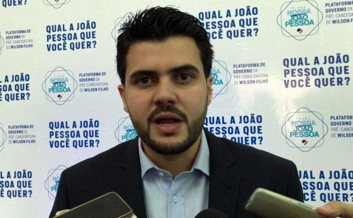 Denunciado pela PGR, Wilson Filho garante que provará inocência na Justiça