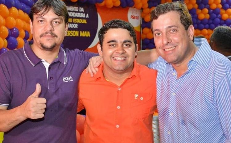 Gervásio participa do pré-lançamento da candidatura de Anderson Maia em CG