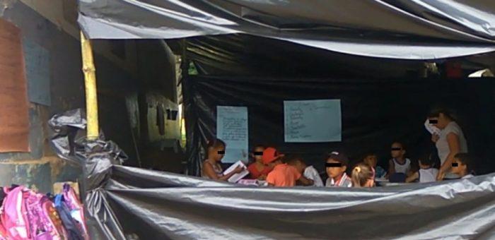 Prefeitura de Areia reabre escola em que alunos estudavam nos fundos em lonas improvisadas