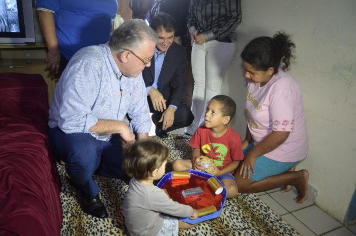 Ministro do Desenvolvimento Social visita CG e é recebido pelo prefeito campinense