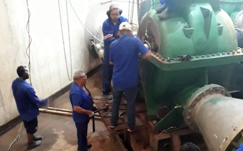 Sistema Gramame volta a operar e abastecimento d'água começa a ser normalizado em JP, Cabedelo e Conde