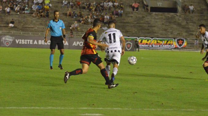 Botafogo-PB só empata com o Globo-RN e fica fora do G4 da Série C