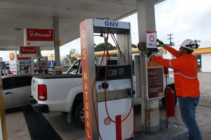 PBGás registra crescimento de 6% no consumo médio de gás natural veicular