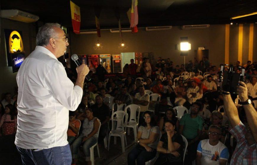 Em Patos, Nonato participa de encontro para fortalecimento da pré-candidatura de João Azevêdo