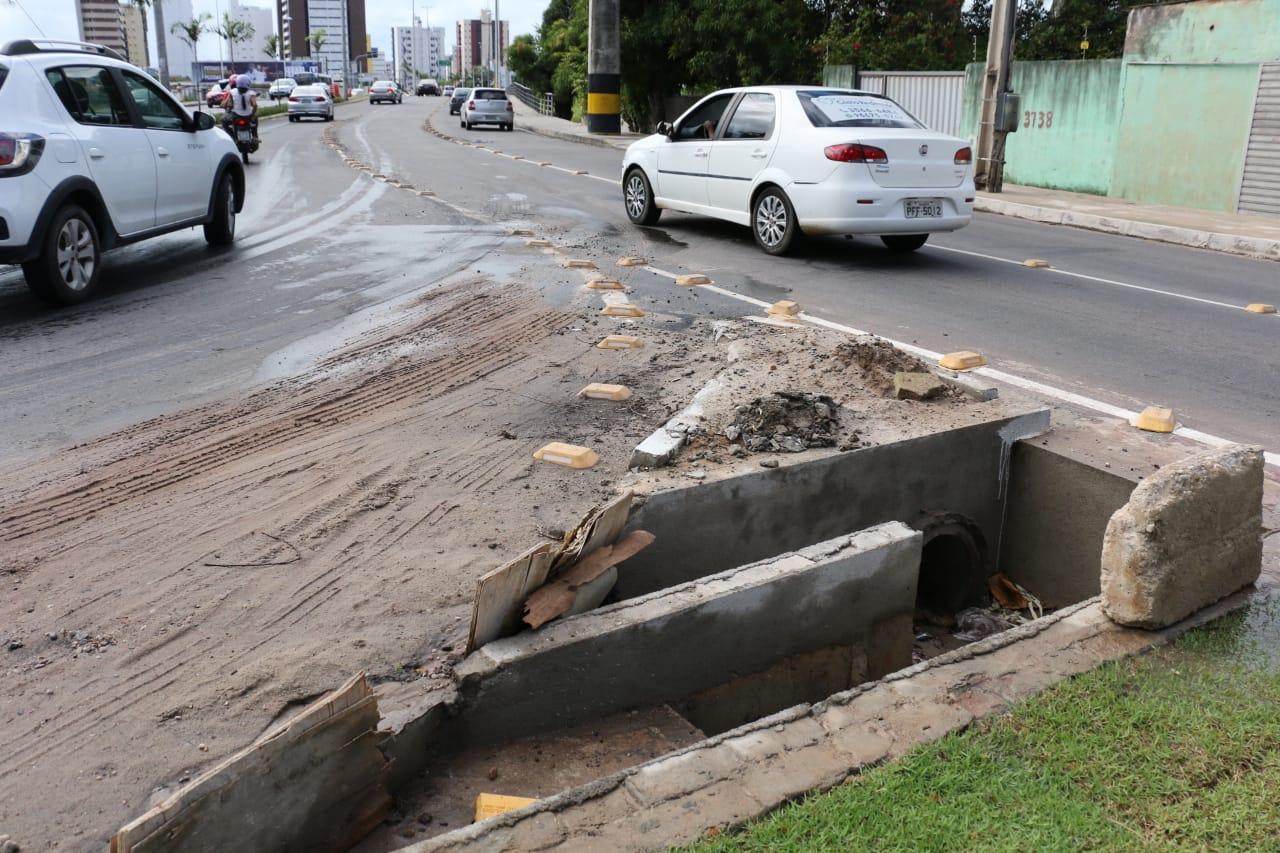 Após 4 anos e mal concluída, obra da Beira Rio é o retrato do modelo de gestão Cartaxo